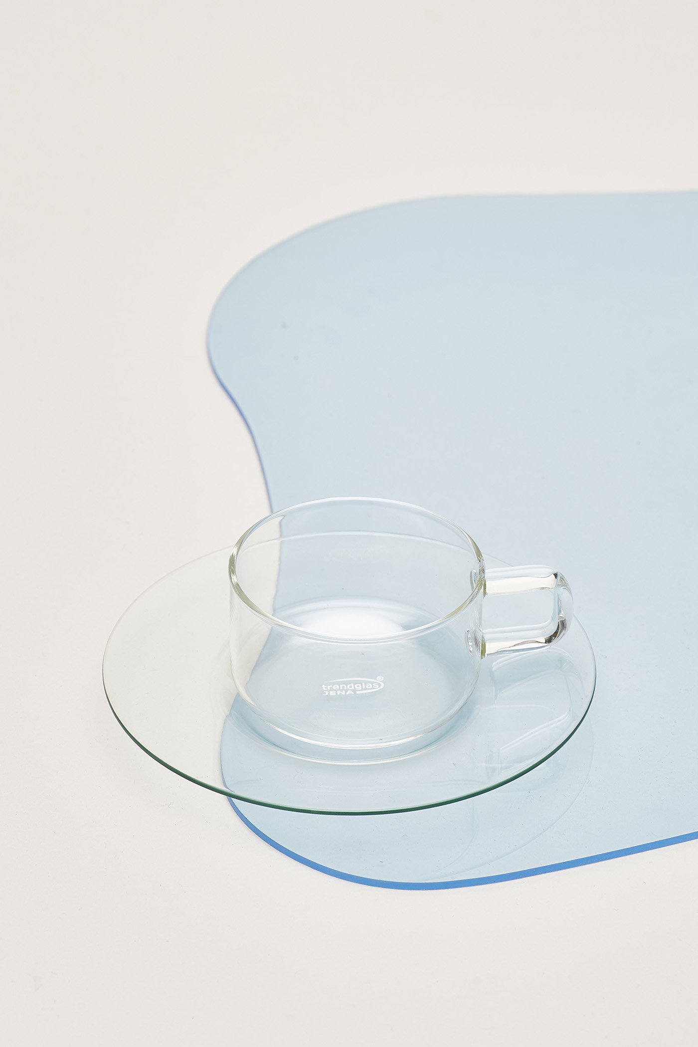Trendglas Linea Cup with Saucer