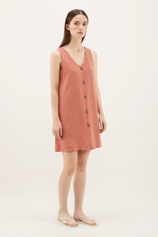 Deniro V-neck Mini Dress