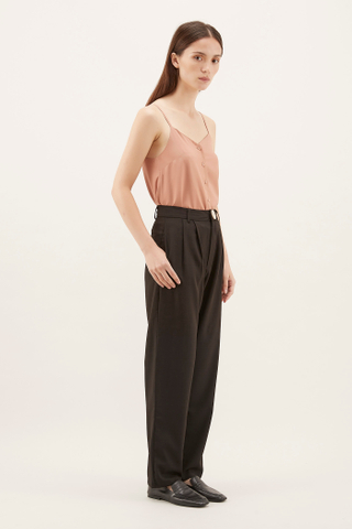 Indiana Front-pleat Trousers