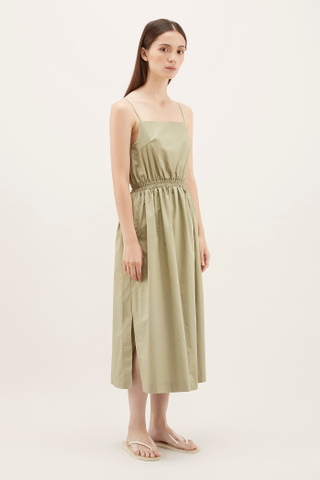 Niese Cinched-waist Dress