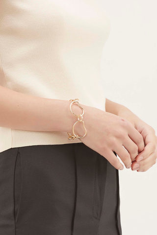 Layland Irregular Circle Bracelet