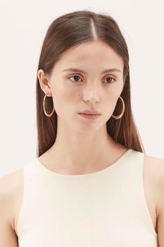 Aderyn Hoop Earrings