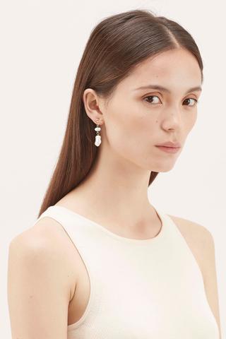 Sutton Pearl Drop Earrings