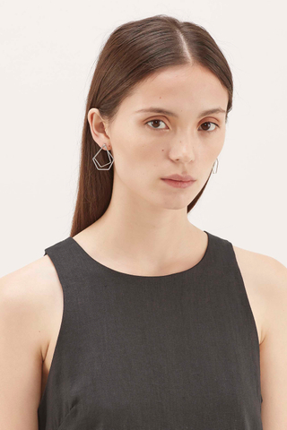 Rafe Layered Angular Earrings
