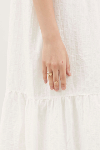Abbott Seashell Ring Set