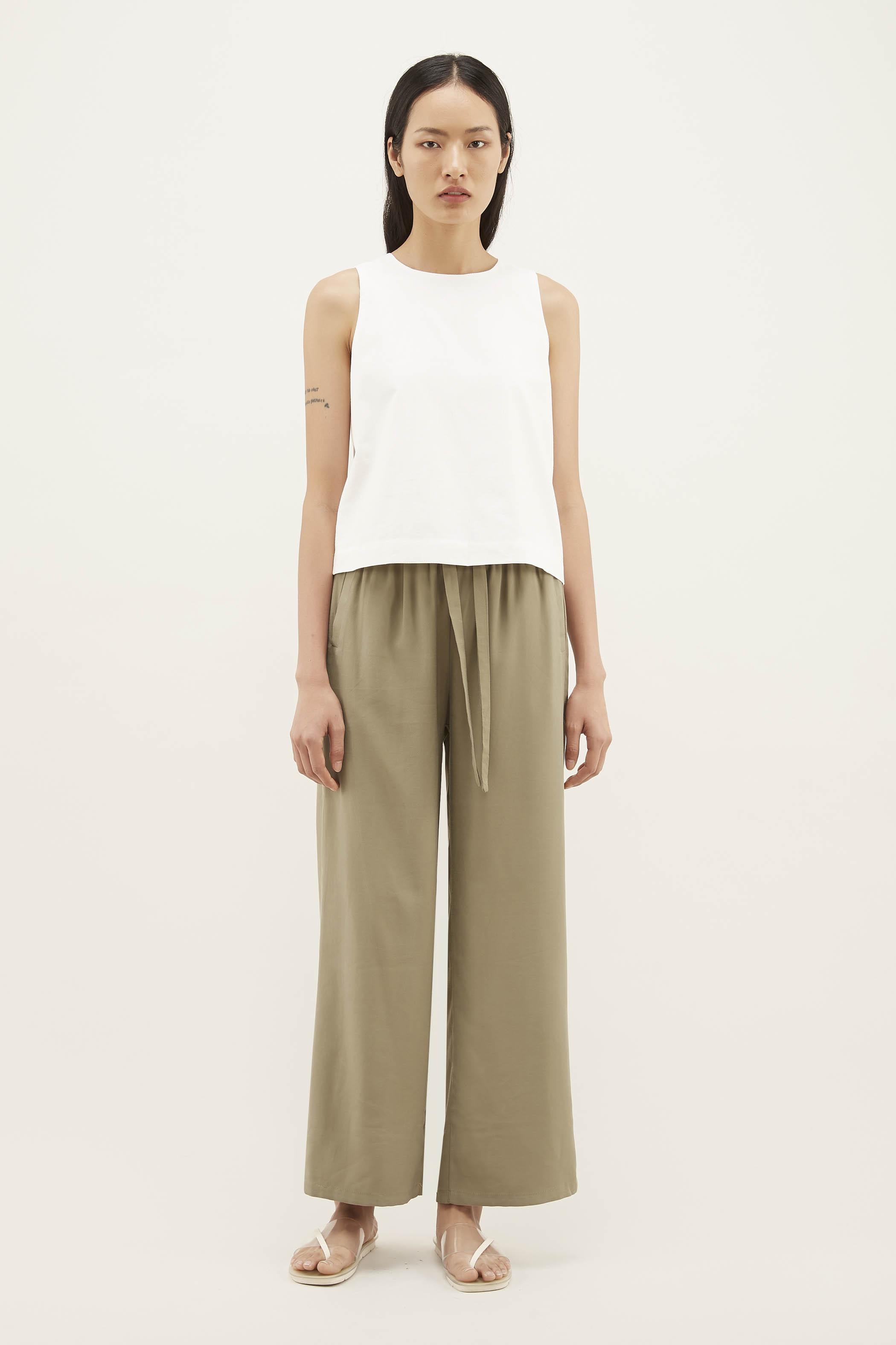 Kaori Drawstring Relax Pants