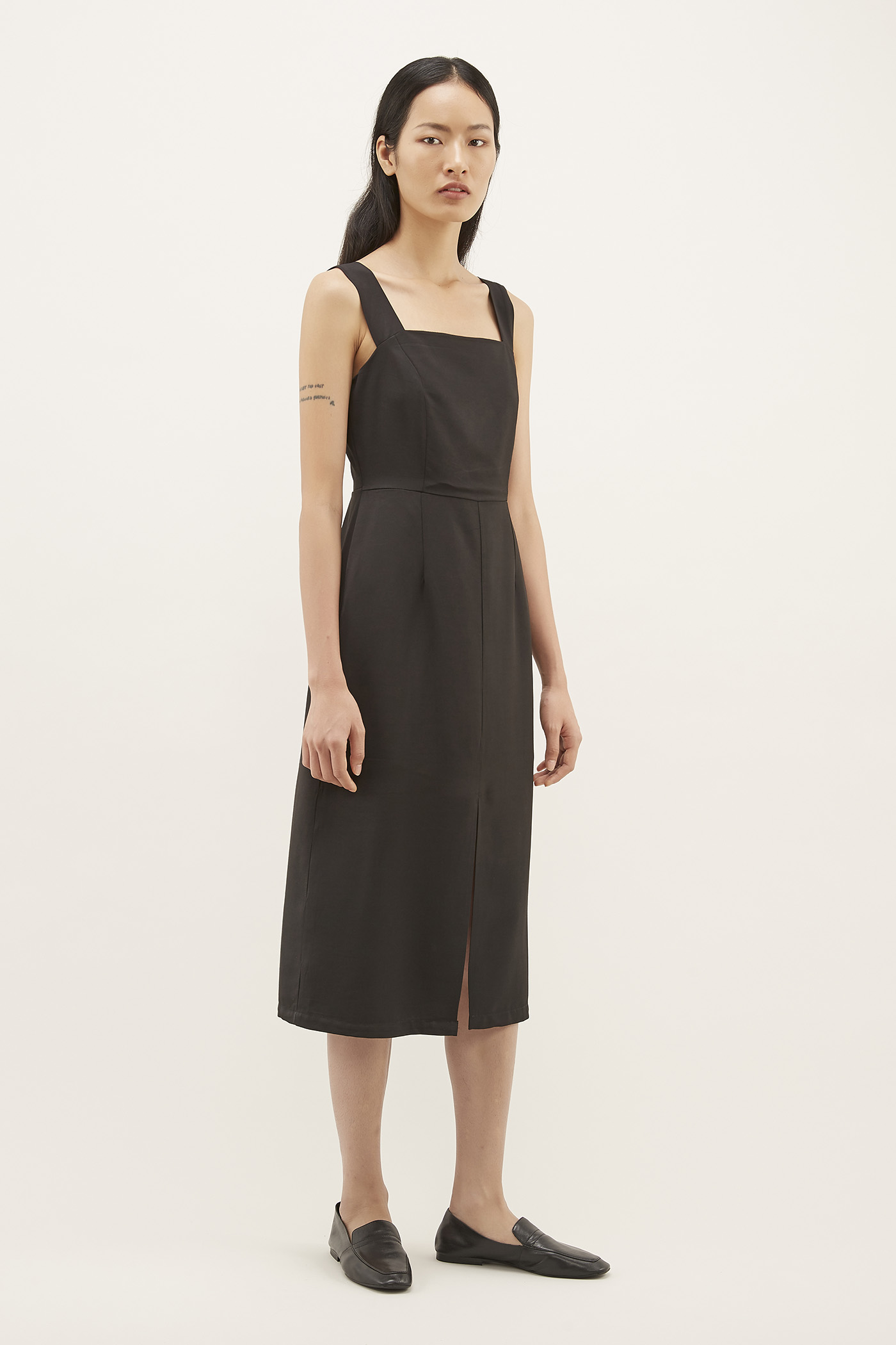 Morlana Square-neck Dress