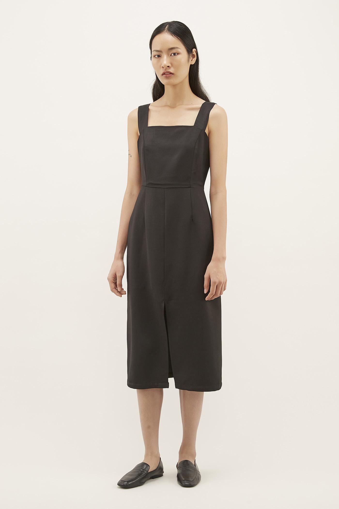 Morlana Square-neck Dress
