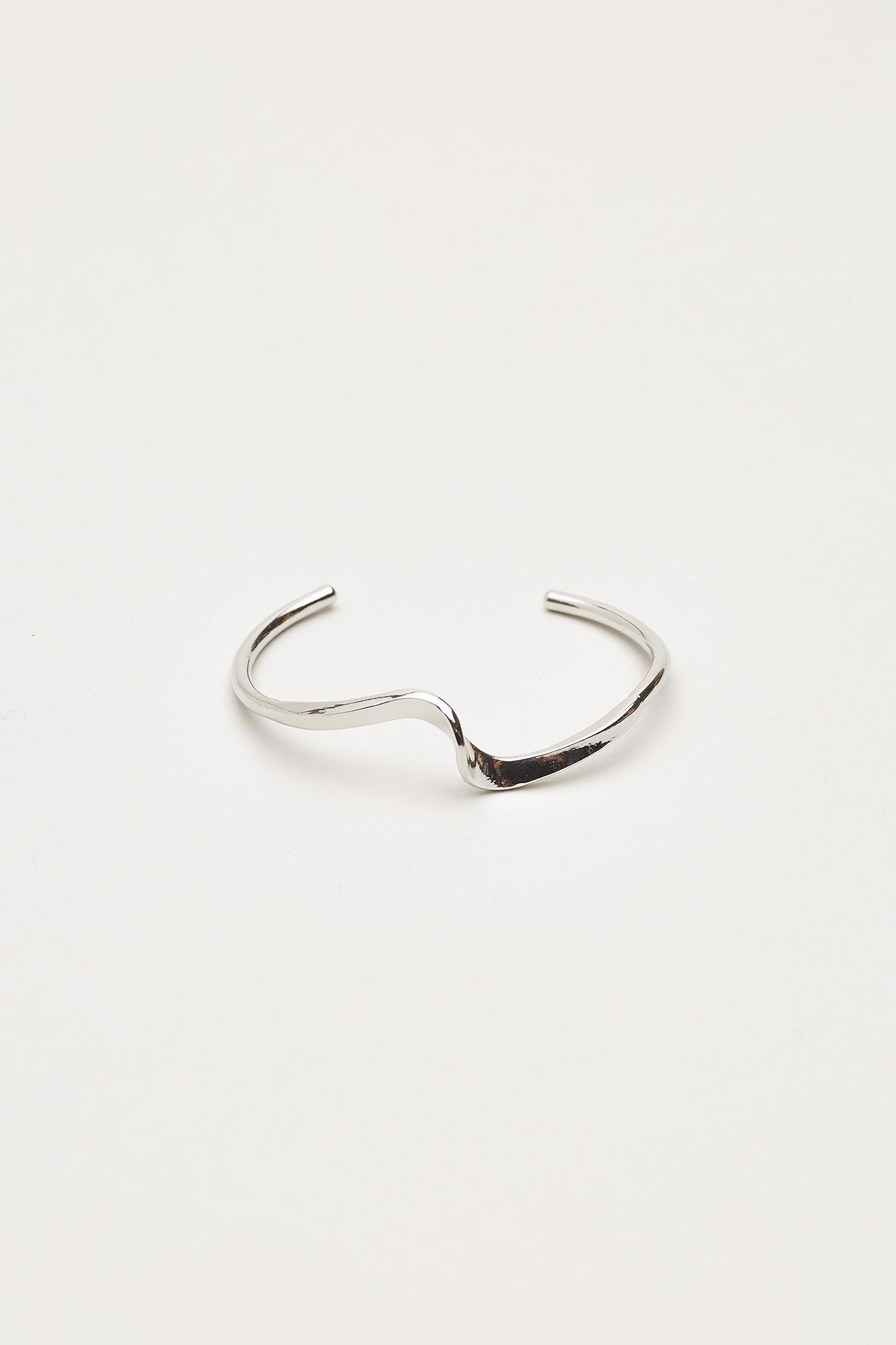 Lidwina Angular Cuff Bracelet