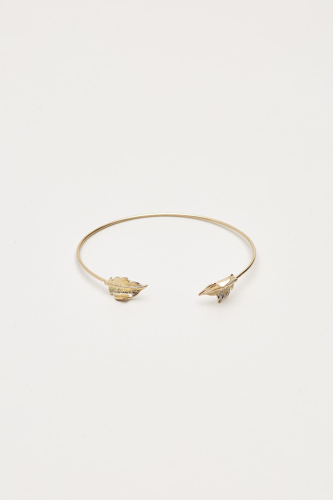 Muya Leaf Cuff Bracelet