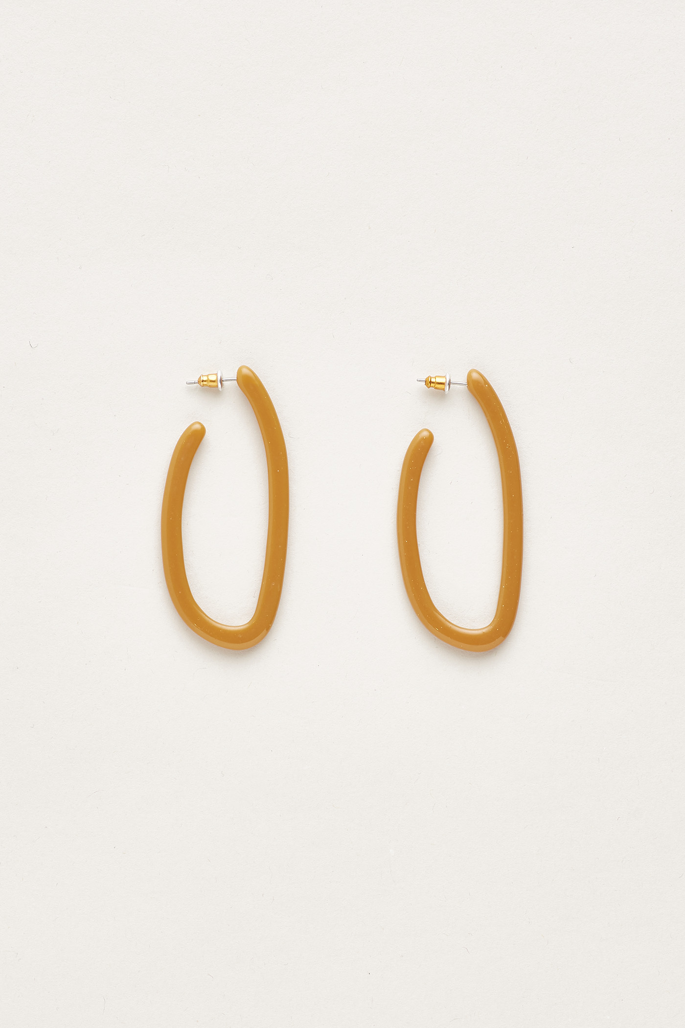 Adyn Angular Hoop Earrings