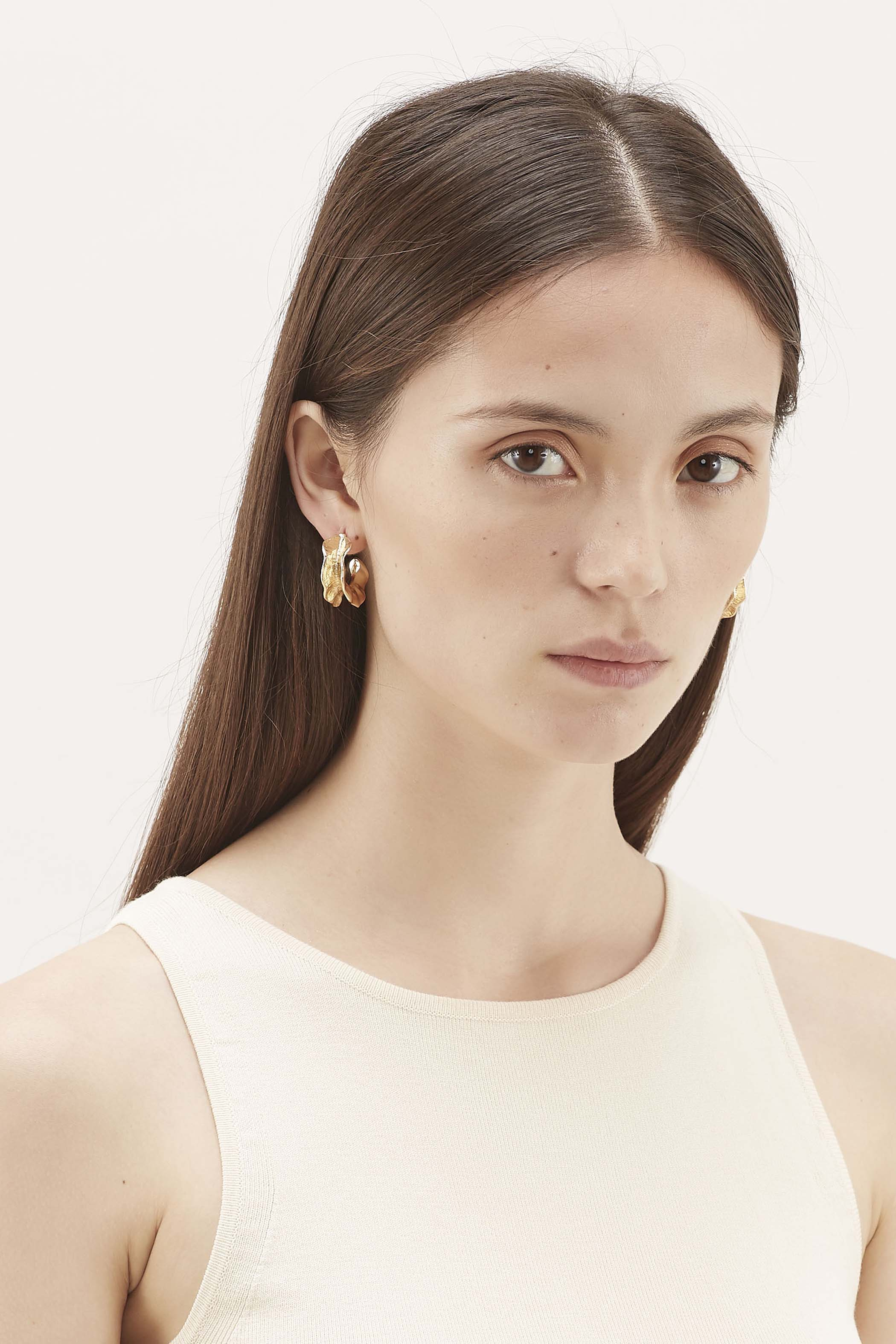 Meia Curved Earrings