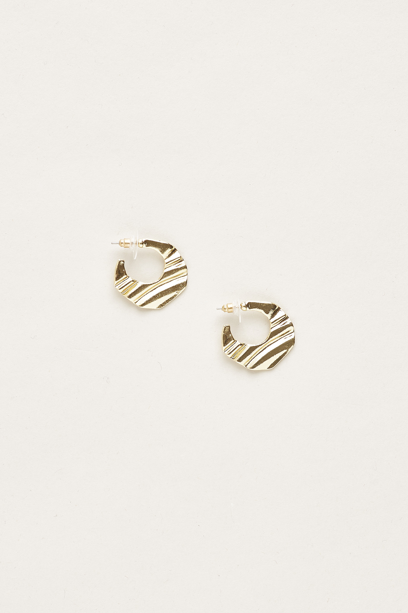 Silya Crescent Wave Earrings