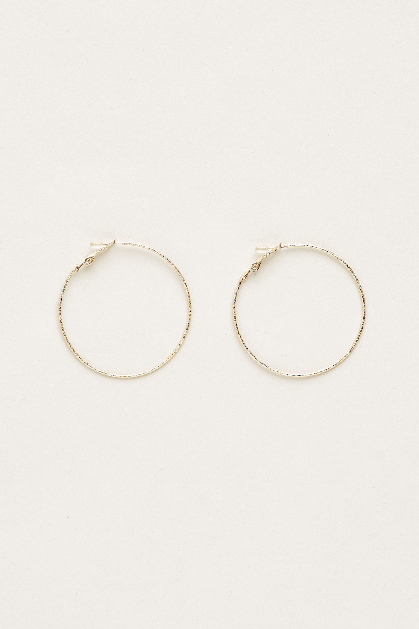 Briell Shiny Hoop Earrings