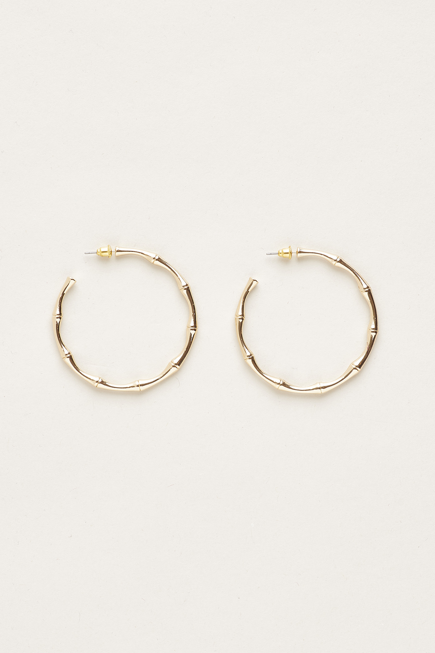 Adelard Bamboo Hoop Earrings