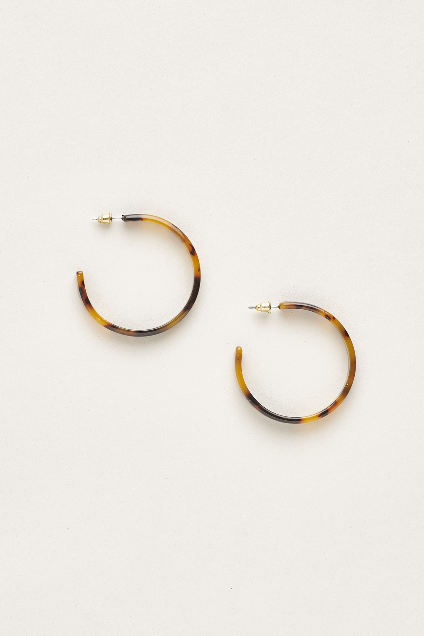 Kerra Resin Flat Earrings