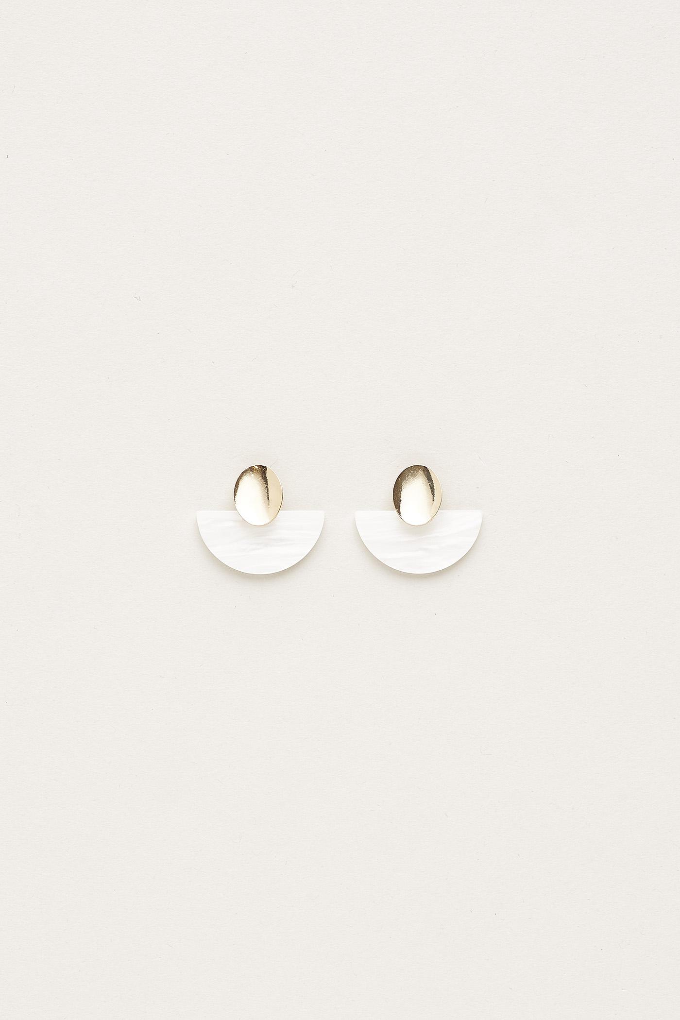Valiry Resin Drop Earrings