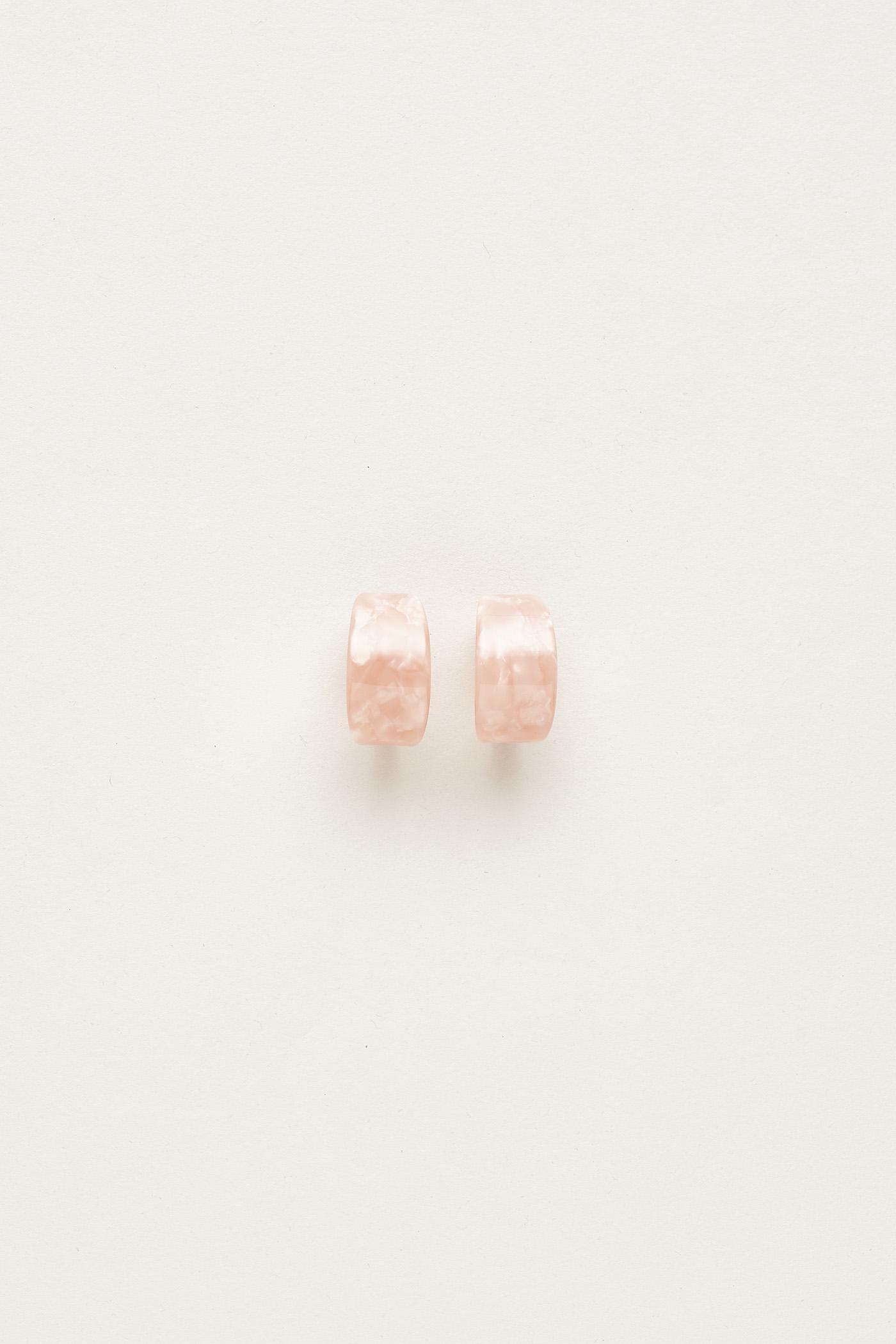 Larsen Curved Earrings