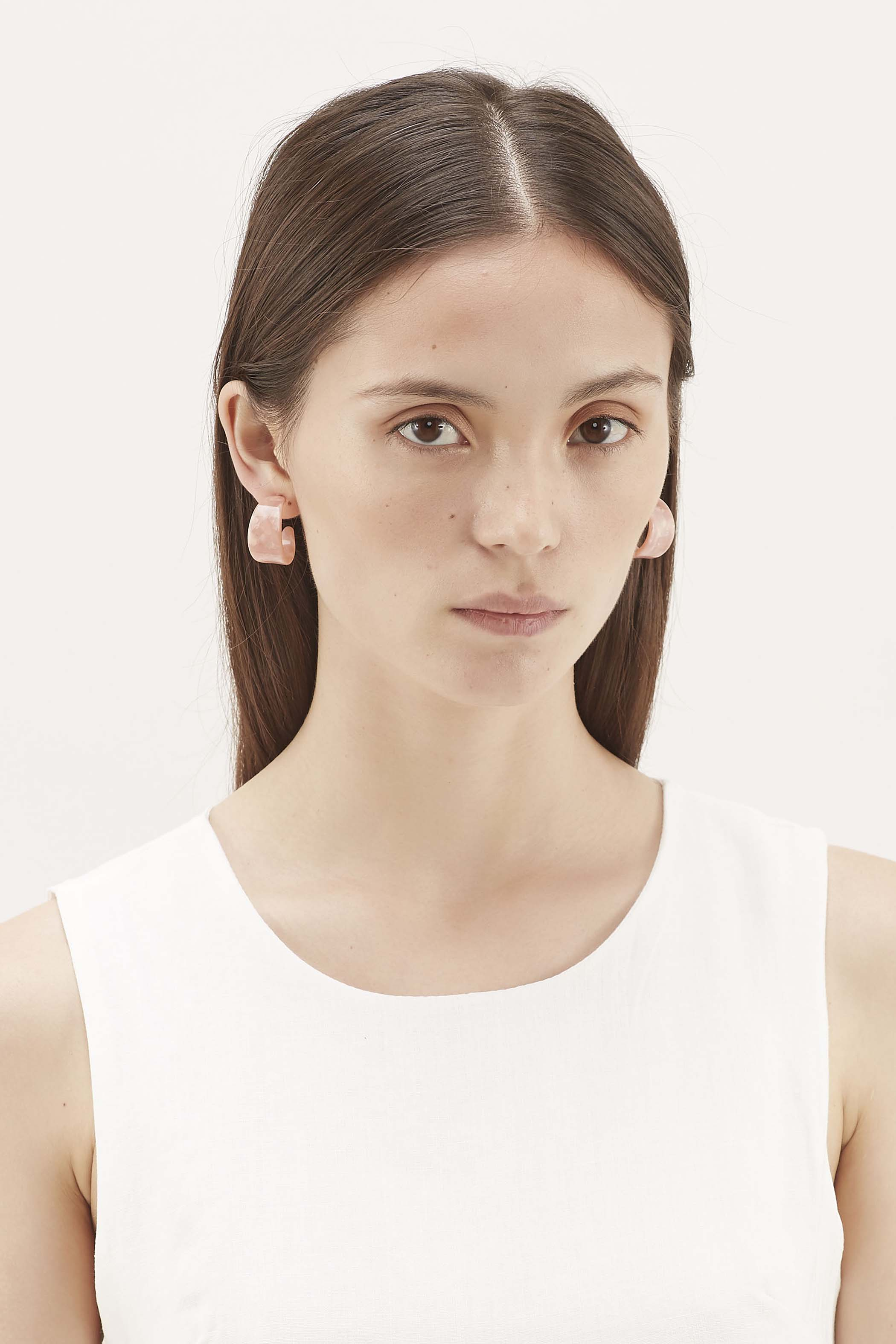 Larsen Curved Earrings