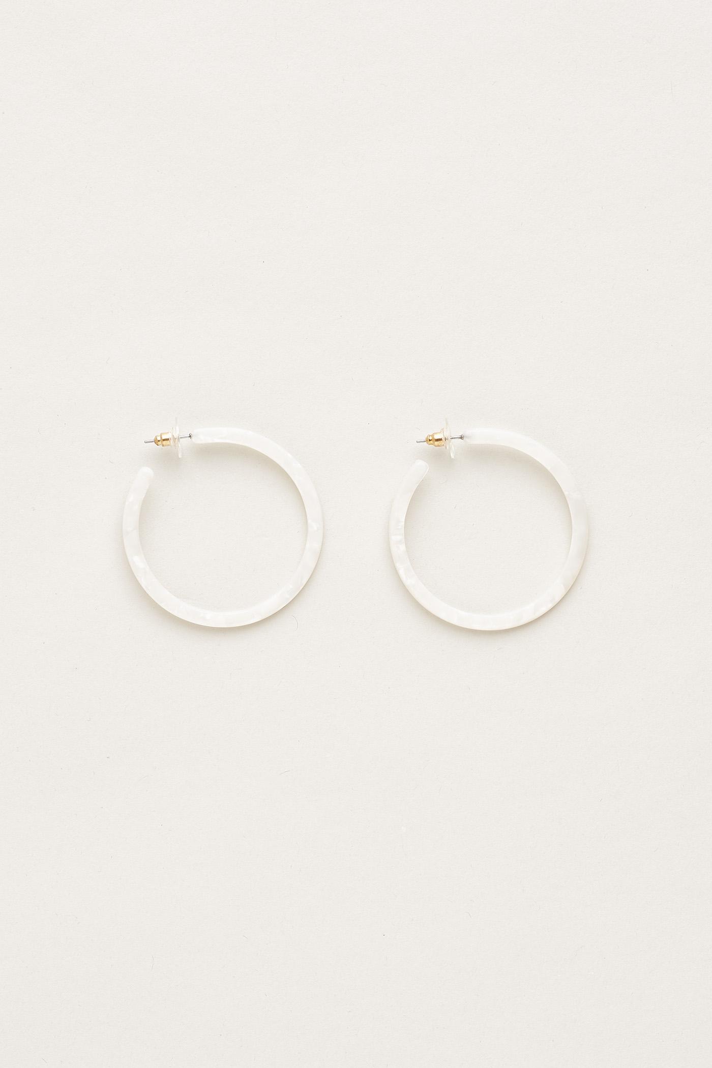 Silja Open Hoop Earrings