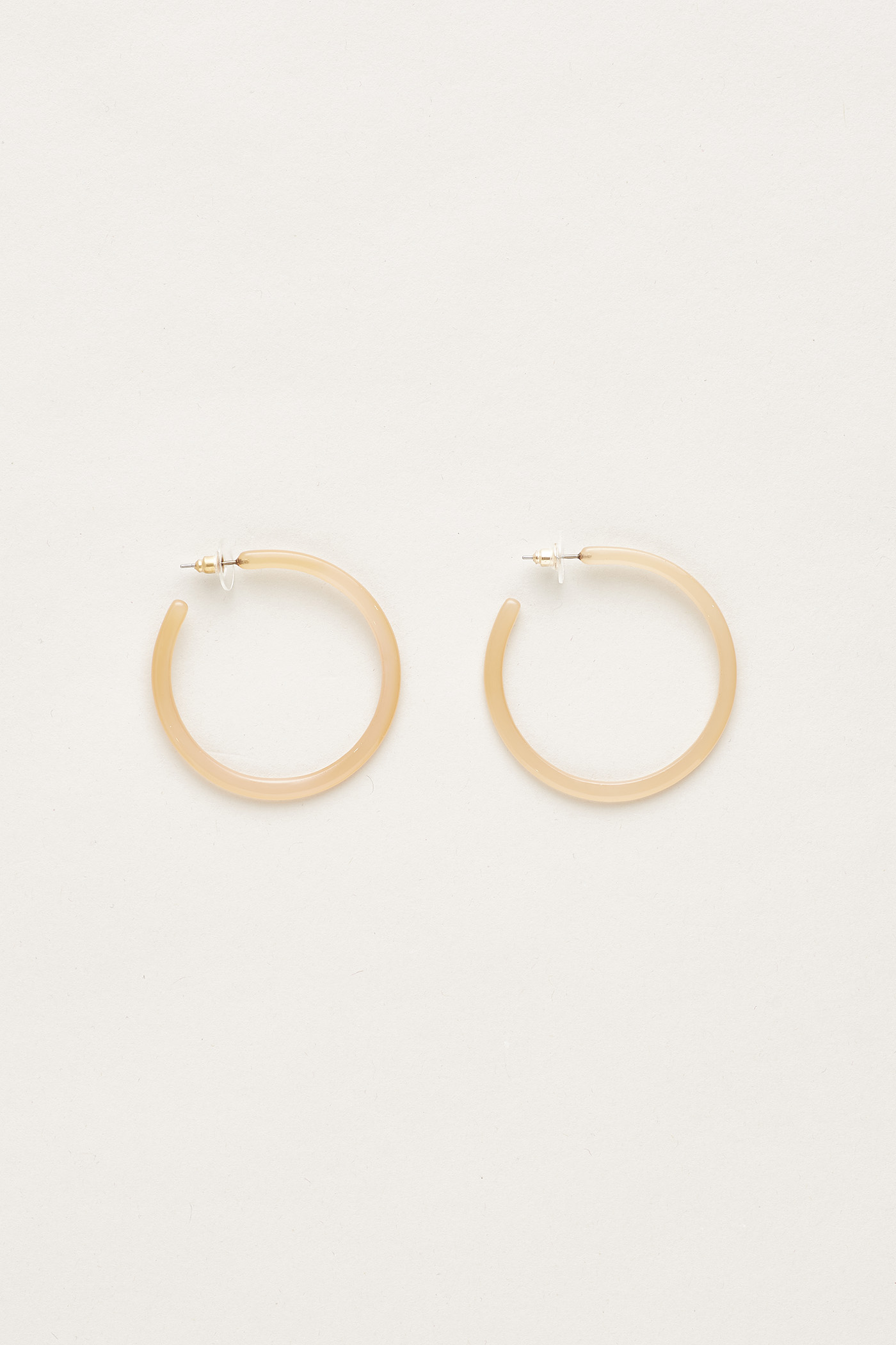 Silja Open Hoop Earrings