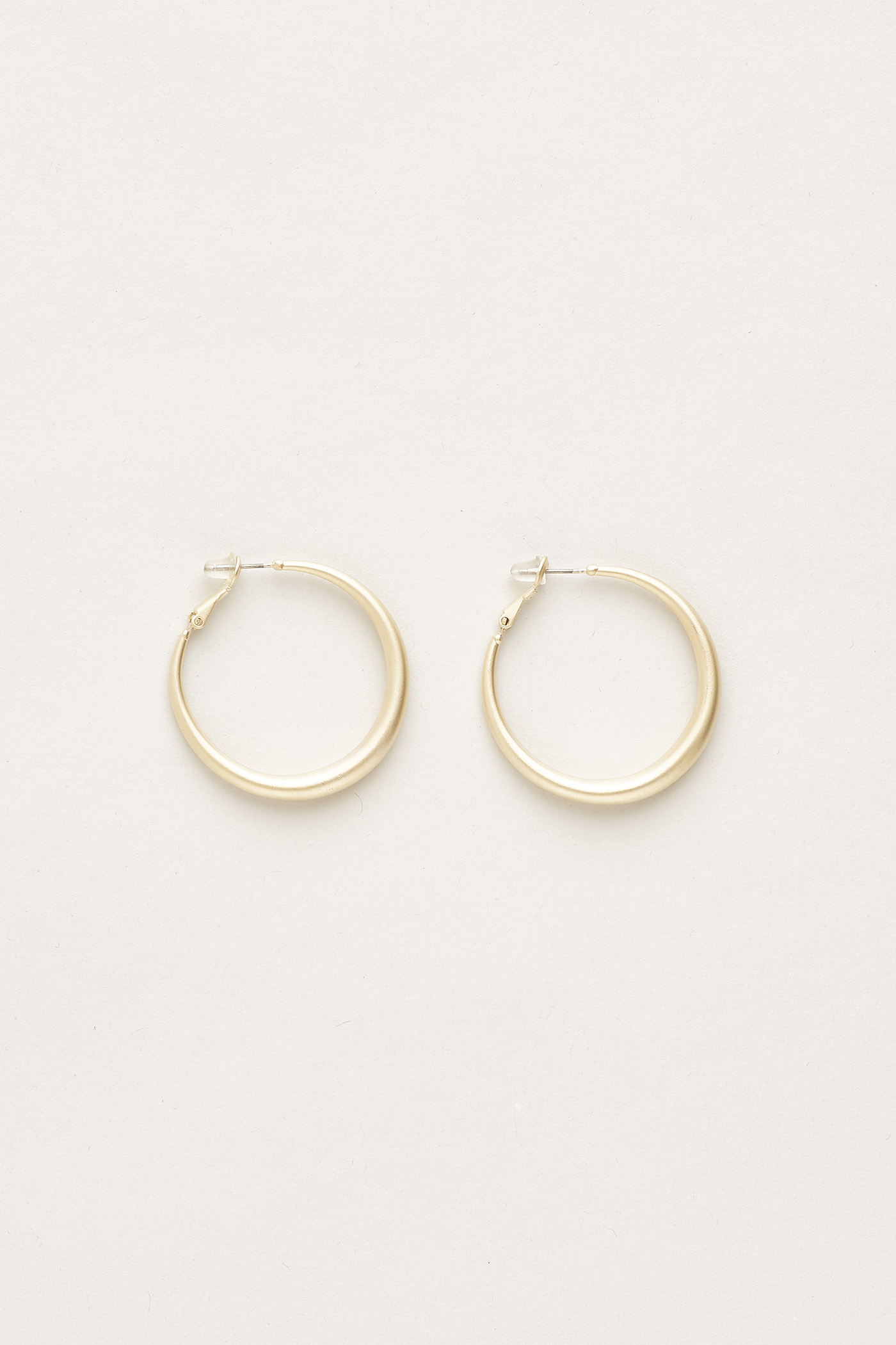 Justave Hinge Hoop Earrings