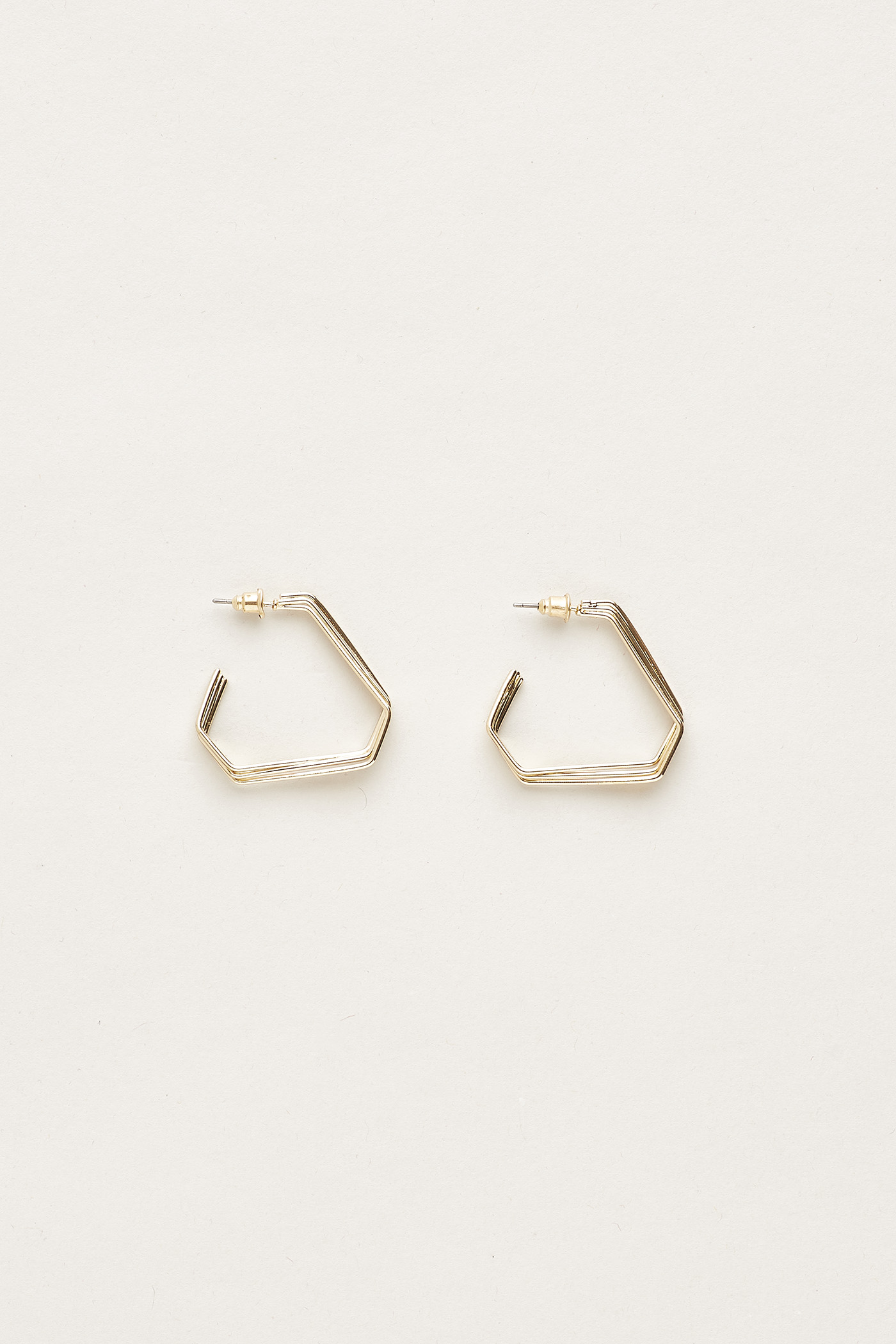 Aidric Angular Layered  Earrings