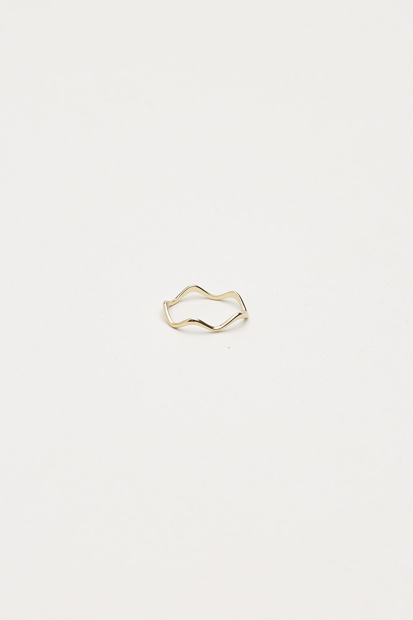 Seraphina Wave Ring