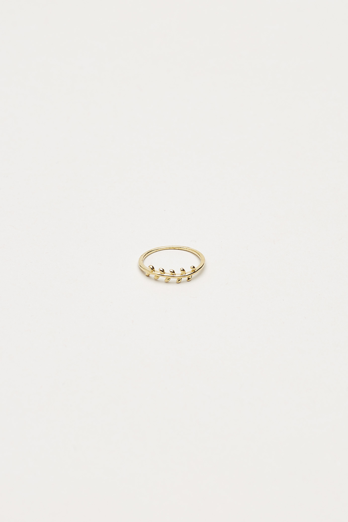 Garold Leaf Ring
