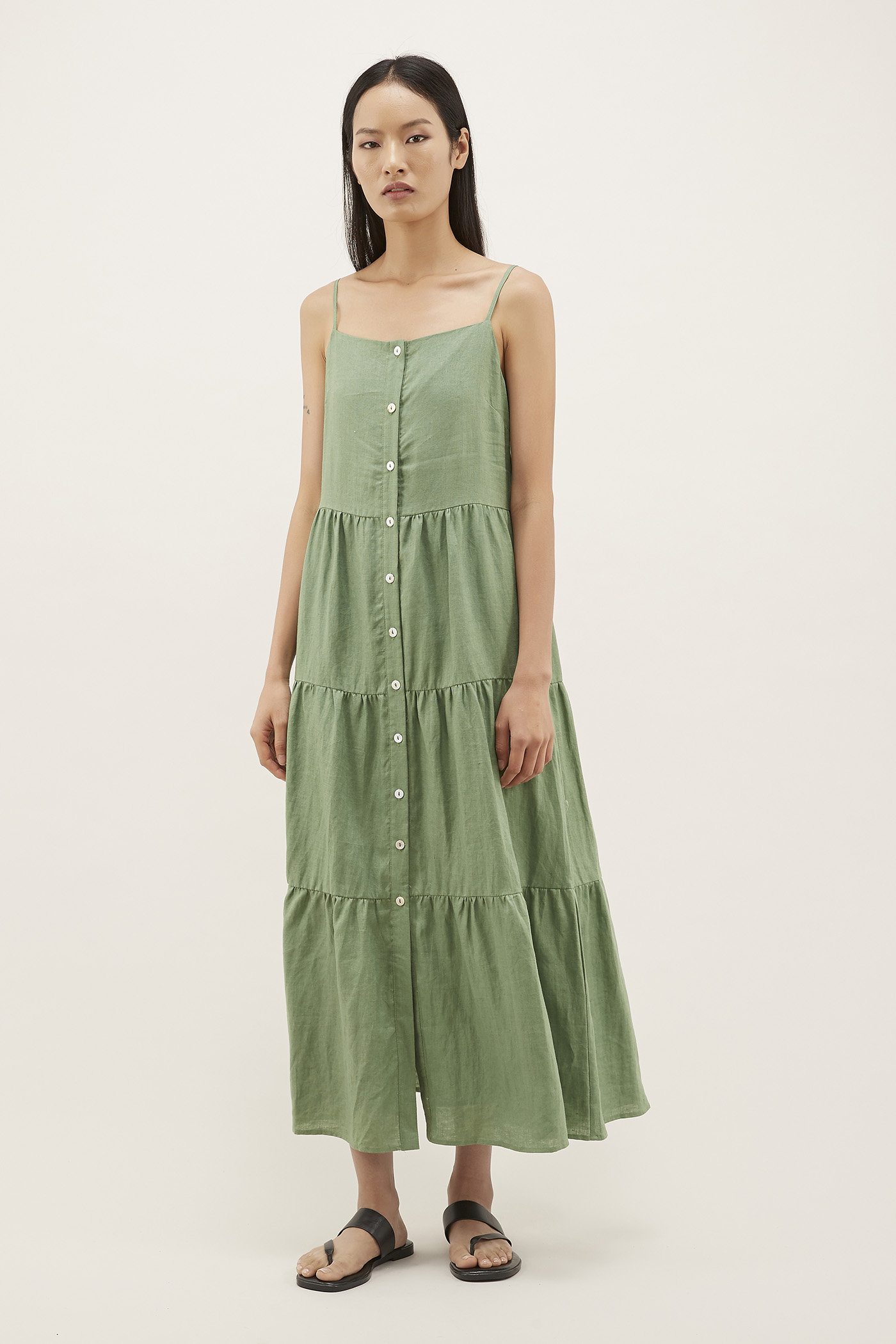 Laraina Tiered Maxi Dress