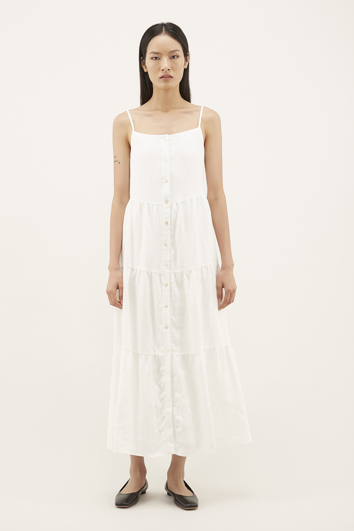 Laraina Tiered Maxi Dress