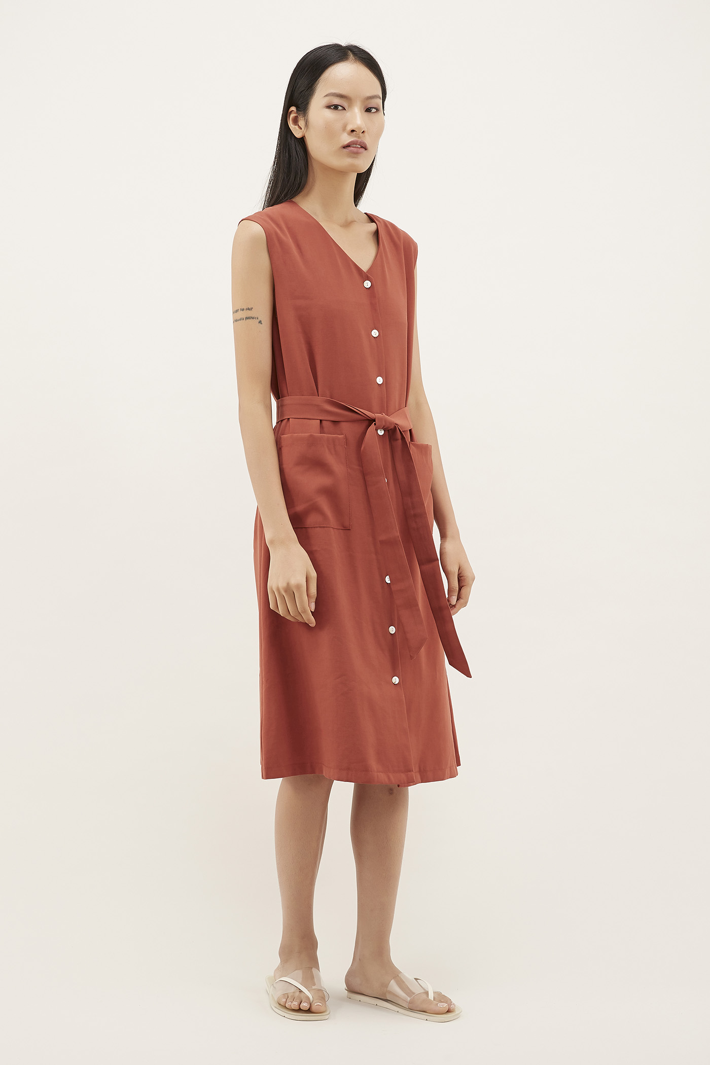Gilmore Button-down Dress