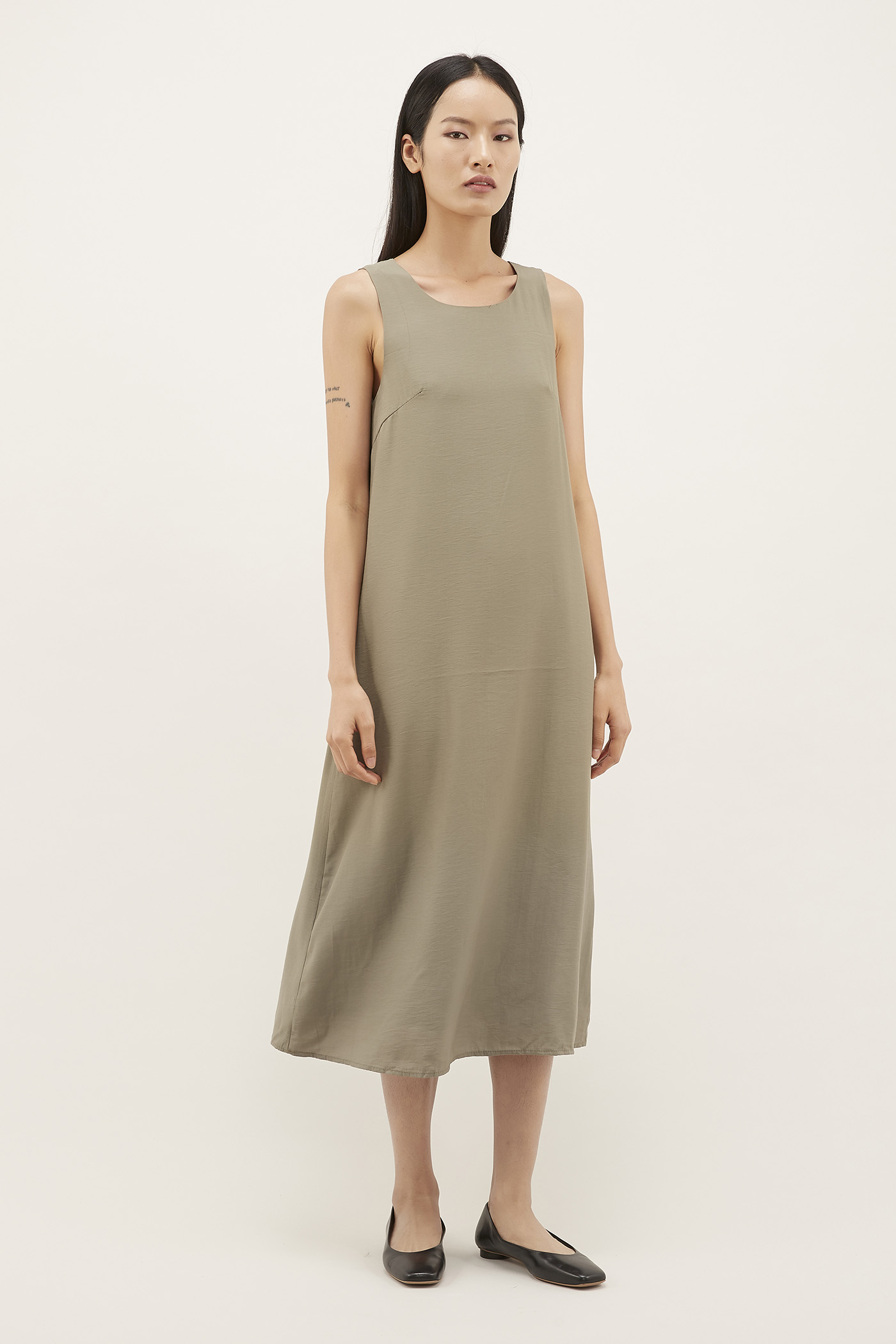 Liyana Strap-tie Maxi Dress