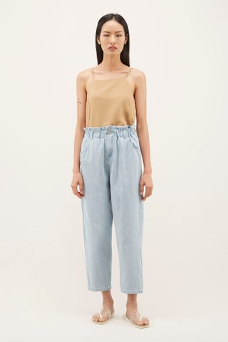 Roxie Cinched-waist Jeans