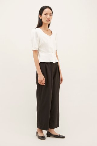 Makis Fitted-waist Blouse