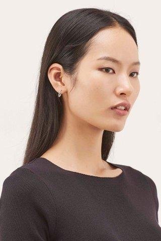 Melinda Open Hoop Earrings