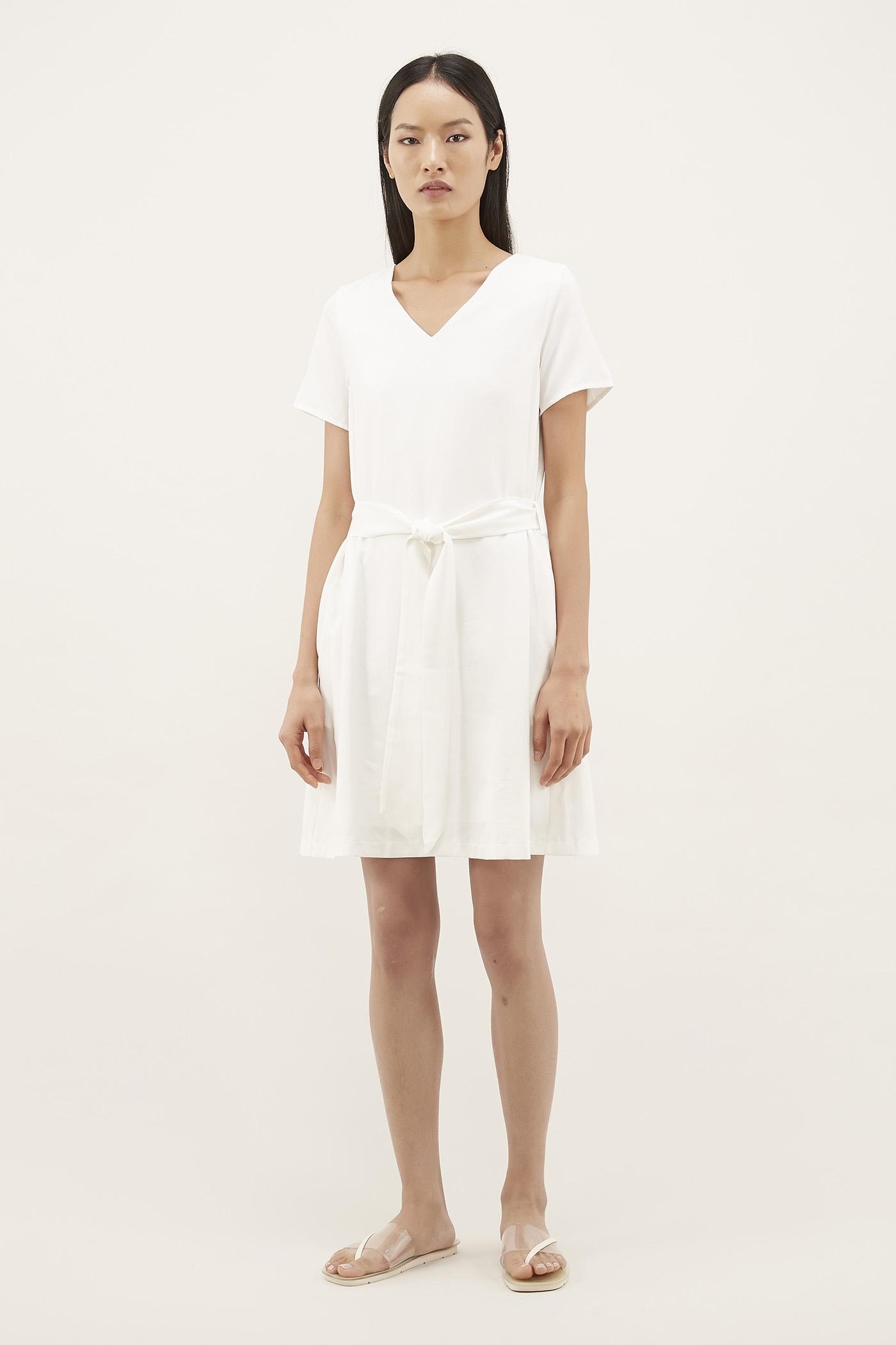 Beryl V-neck Relaxed Dress