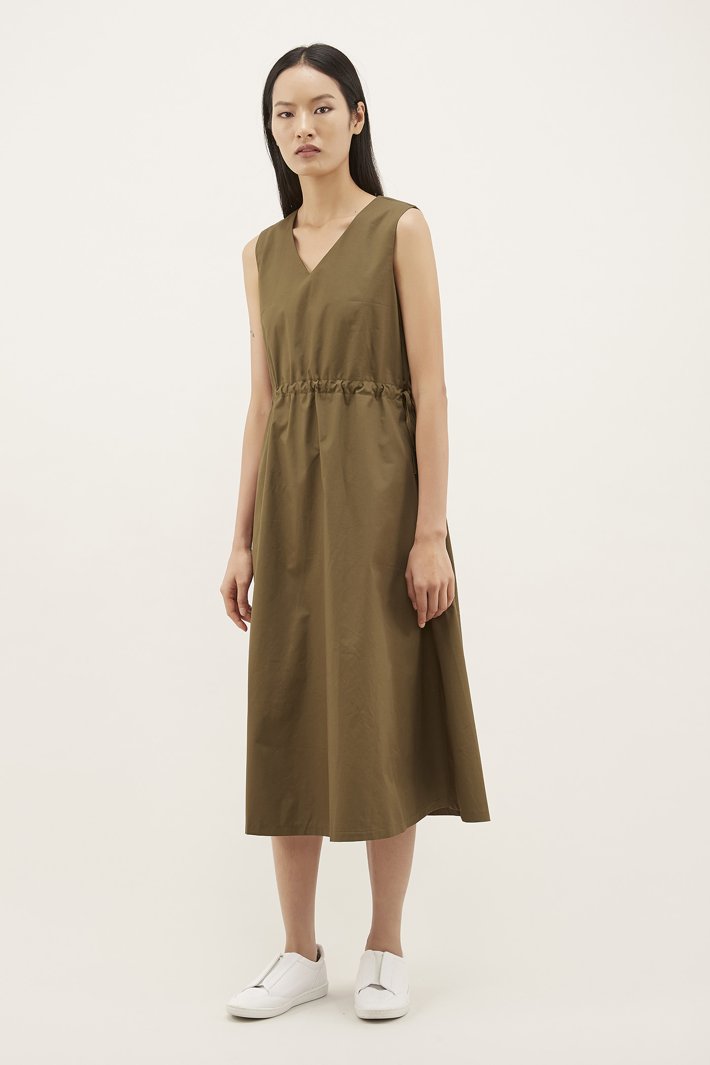 Feres Drawstring Dress