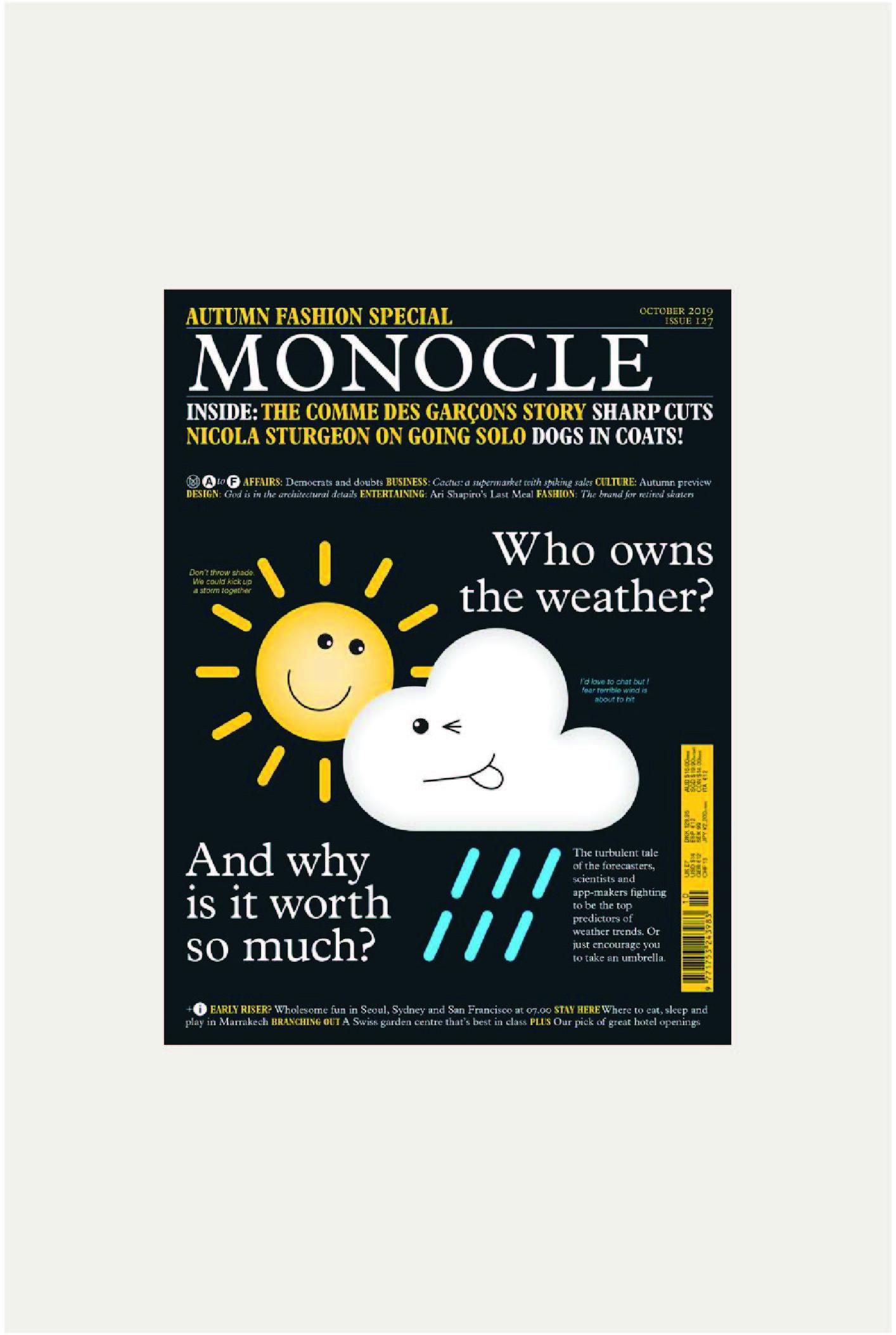 Monocle Oct 2019