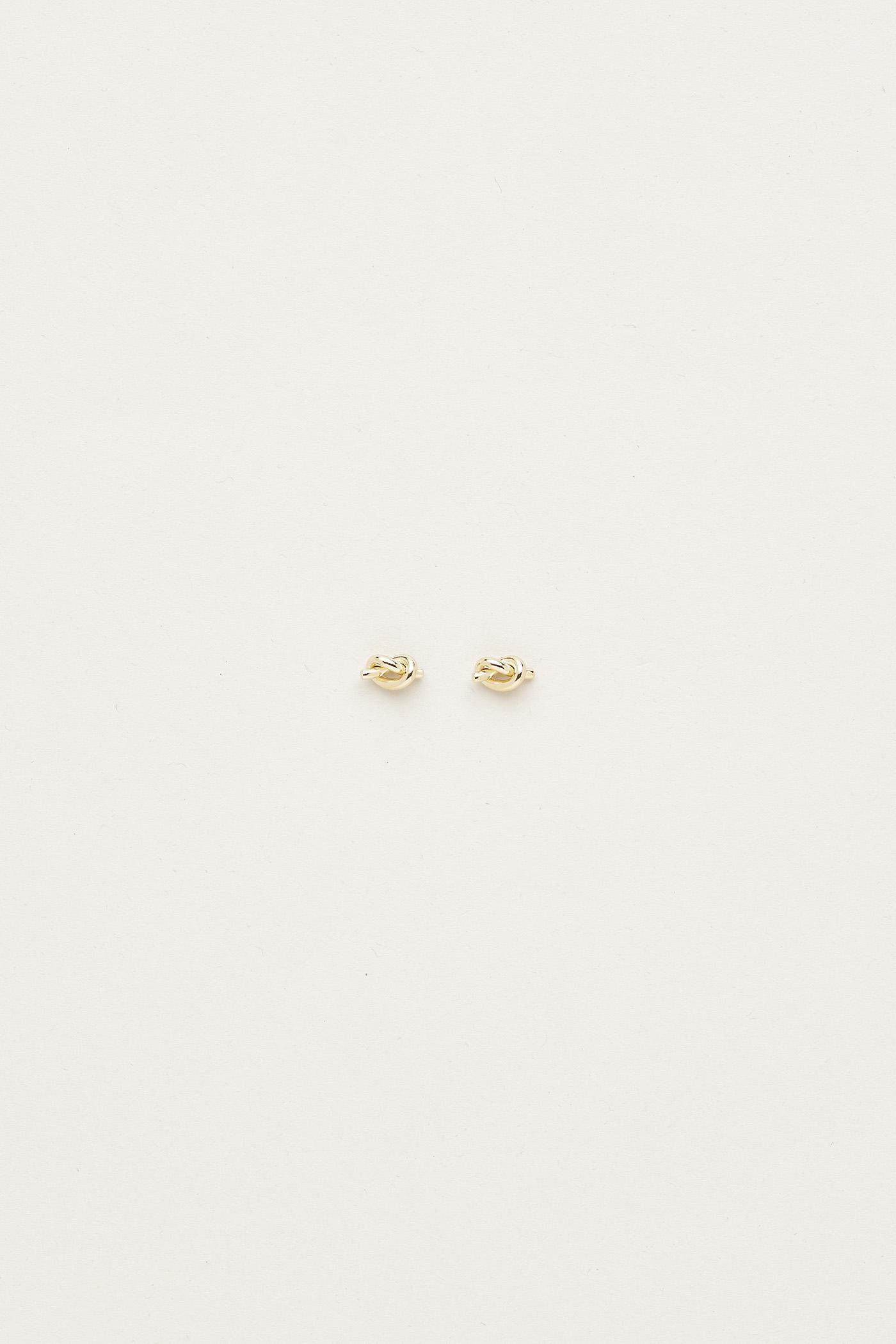Tavia Knot Ear Studs