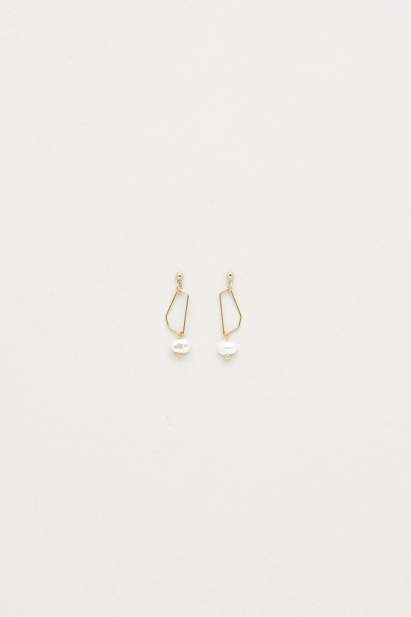 Odelia Pearl Earrings