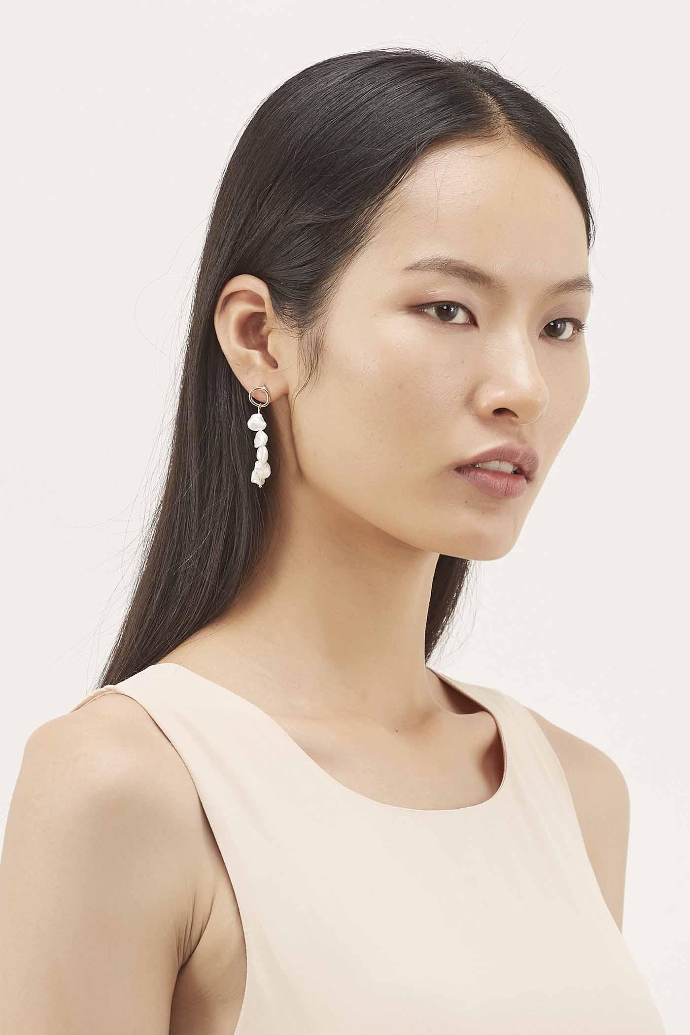 Erinna Pearl Earrings
