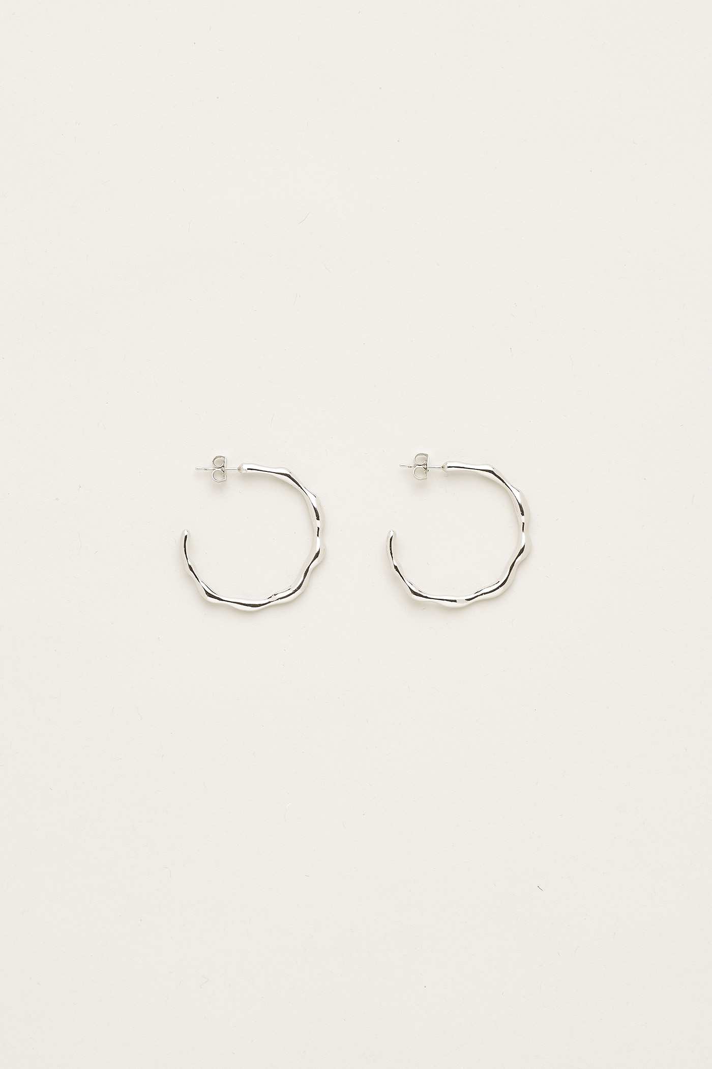 Jacyline Open Hoop Earrings