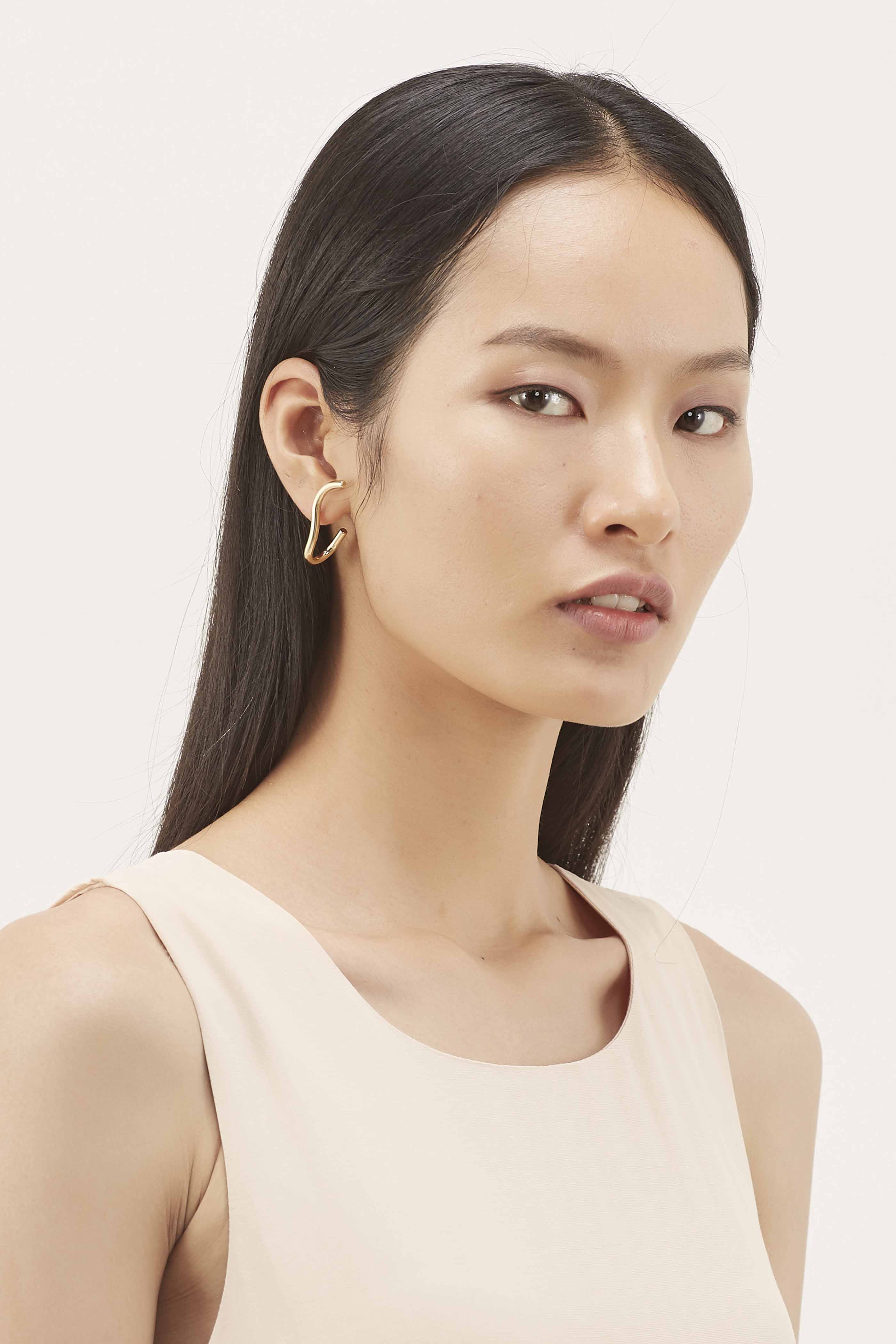 Kathy Wave Earrings