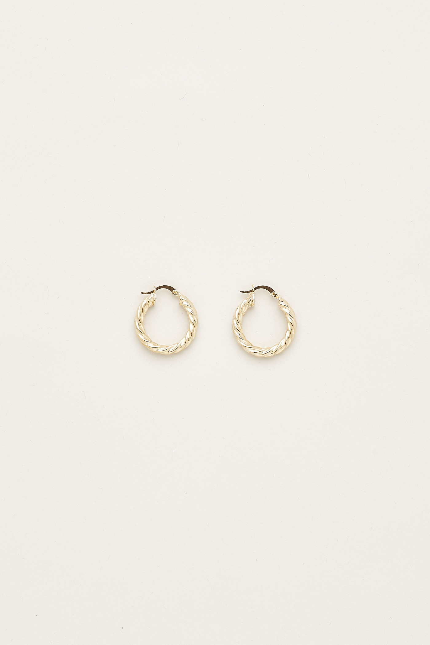 Kristin Twist Hoop Earrings