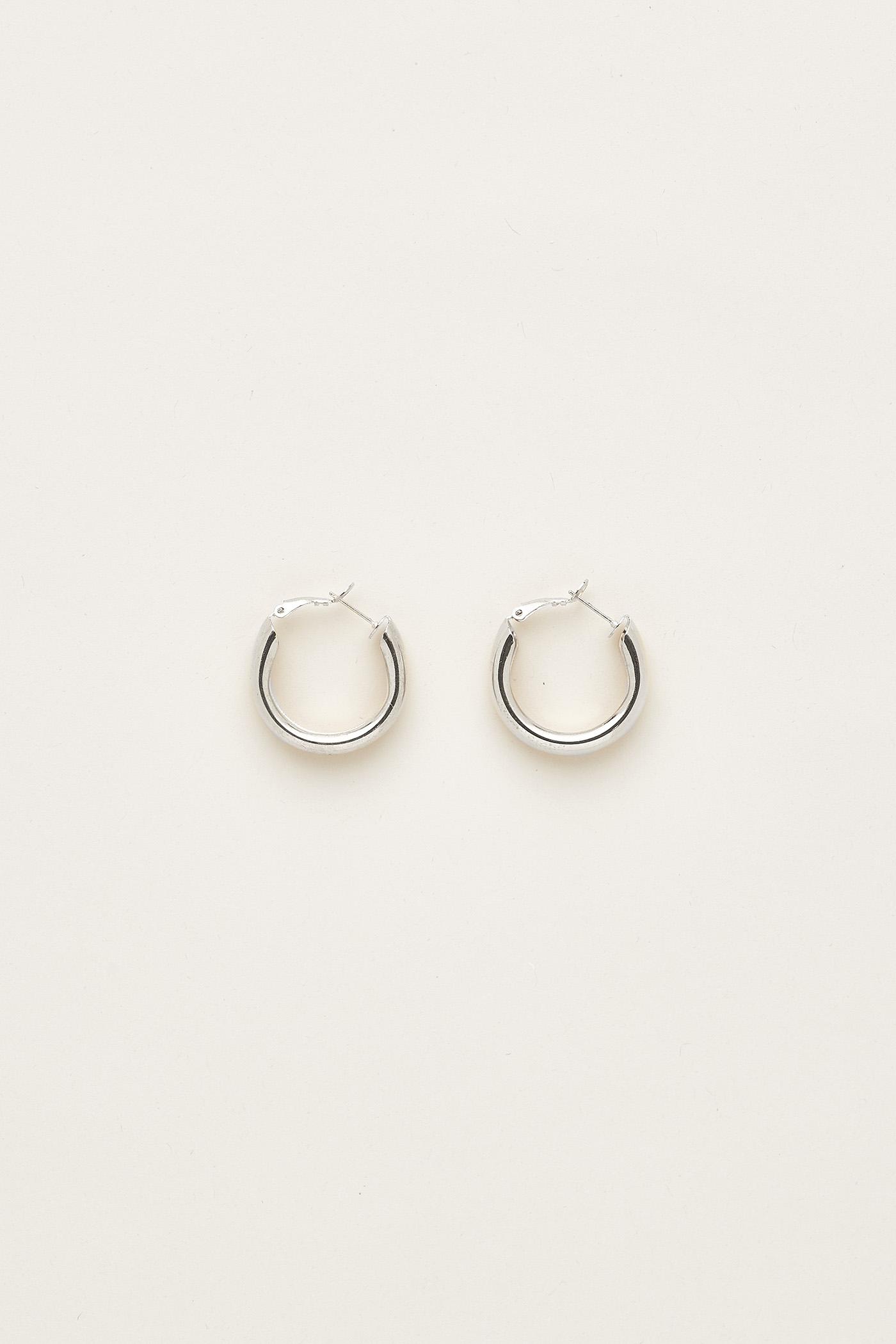 Esmeralda Hoop Earrings
