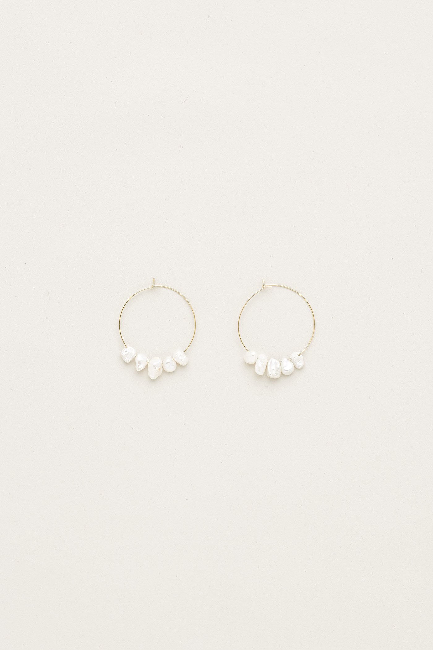 Mirena Pearl Earrings