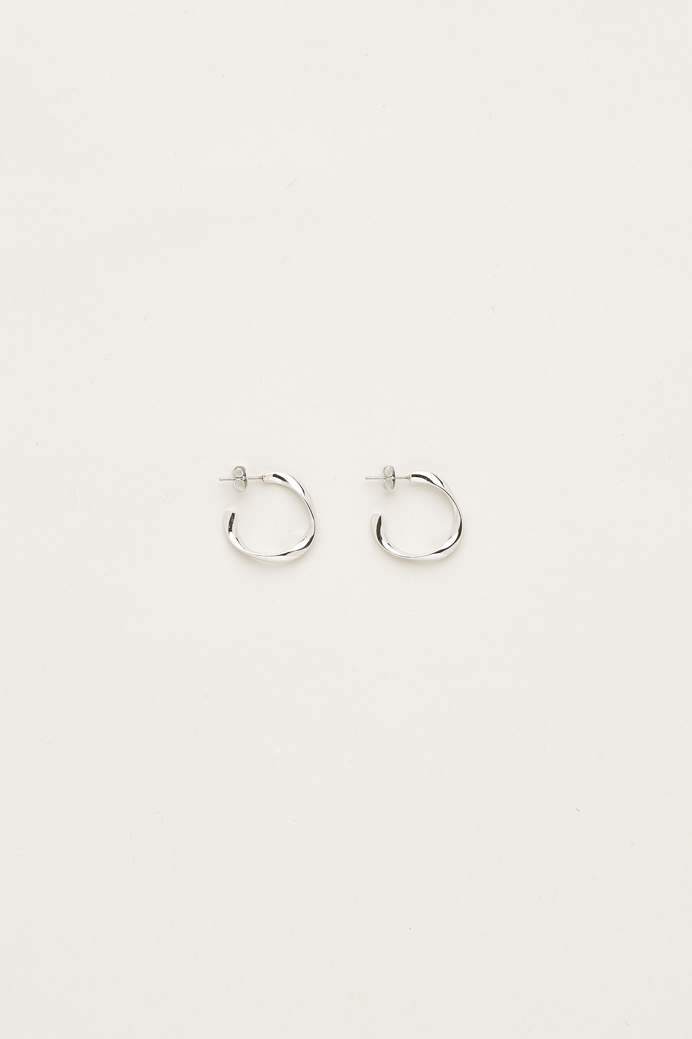 Felicity Open Hoop Earrings