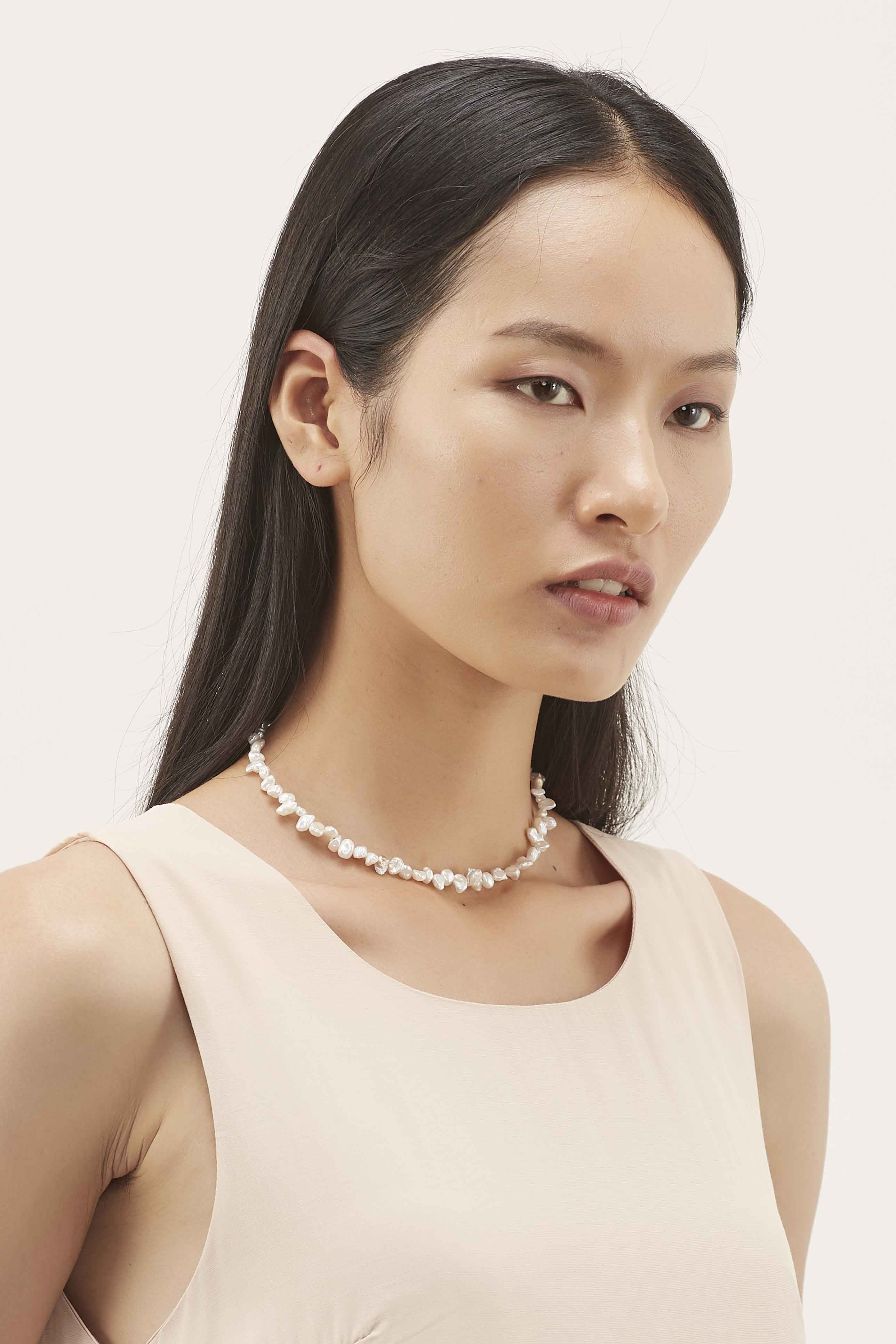 Adrienna Pearl Necklace