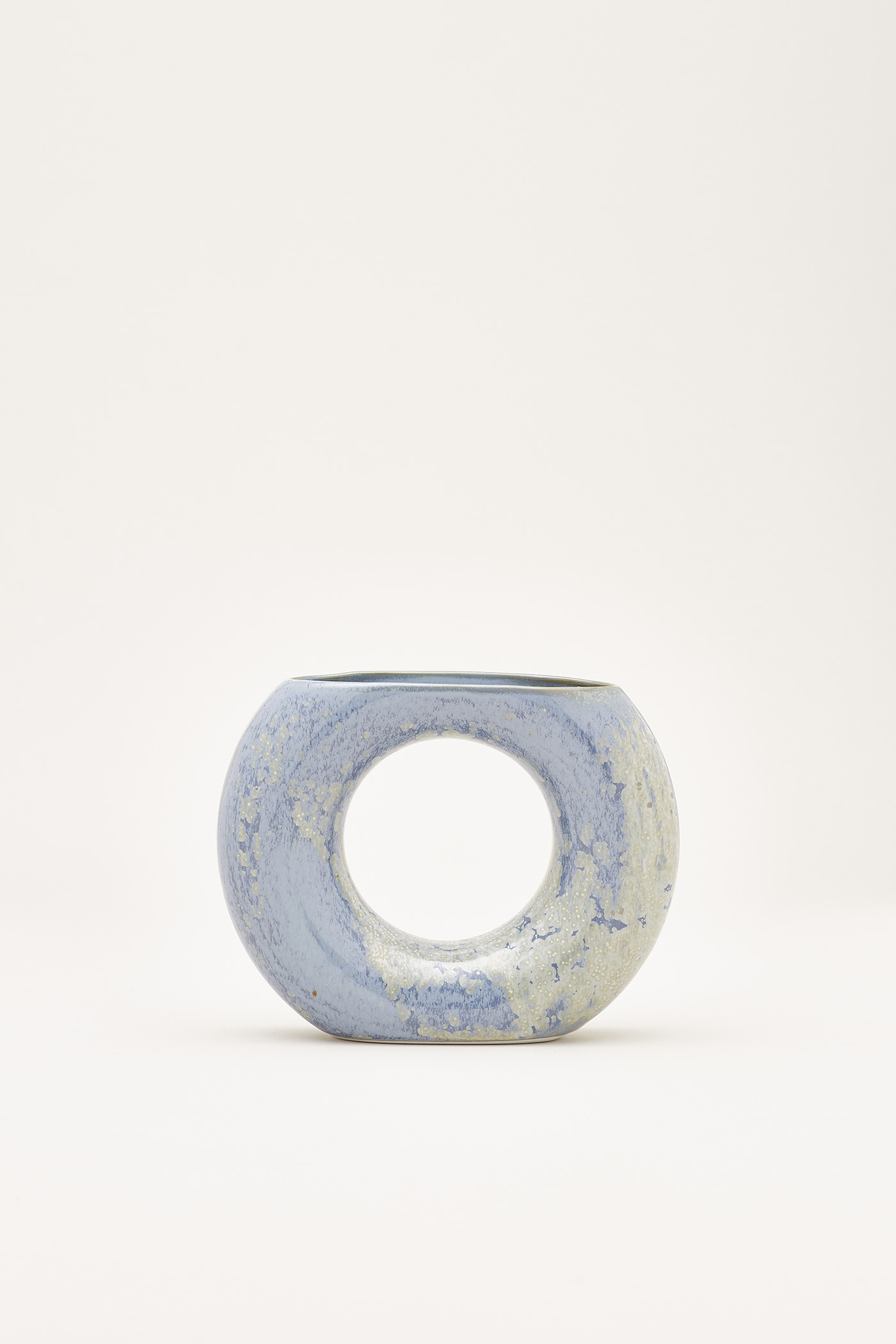 Sumi Ceramic Ring Vase